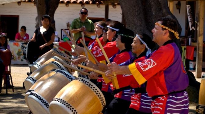 Taiko Drums at the Santa Barbara Presidio