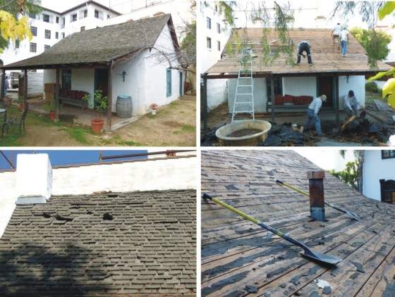 Pico Adobe Roof Project Dispatches From The Presidio