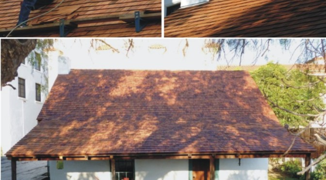 Pico Adobe Roof Project