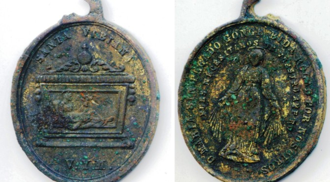 Recent Research Leads to Re-analysis of Rare Religious Medal