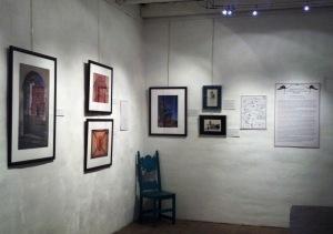 The Junipero Serra exhibit, opening February 2! Photo by Anne Petersen.