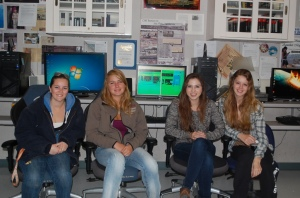 EAST program students in the computer lab.