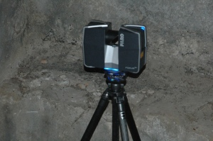 Laser scanner used in the project.