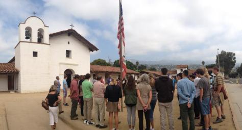 September 11, 2013 at El Presidio de Santa Barbara SHP. Photo by Christa Clark Jones.