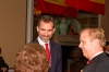 SBTHP Hosts a Reception for the Prince of Asturias, Prince Felipe
