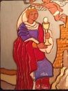 New Saint Barbara Tile Debuts at SBTHP Holiday Sale Saturday December 14