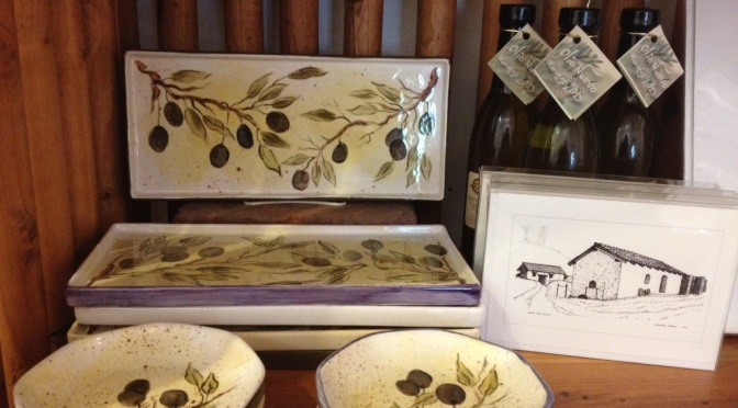 New to La Tiendita: Jeannie Davis Olive-Themed Ceramics