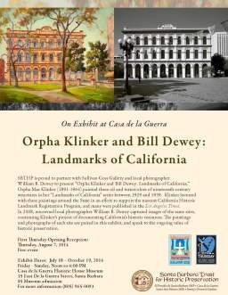 Klinker and Dewey flyer