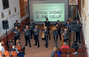 Mariachi Garibaldi de Jaime Cuellar give a stellar performance. Photo by Mike Imwalle.