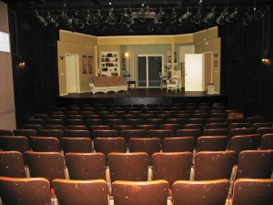 The Alhecama Theatre while in use by the Ensemble Theatre Company. Photo by Michael Imwalle.