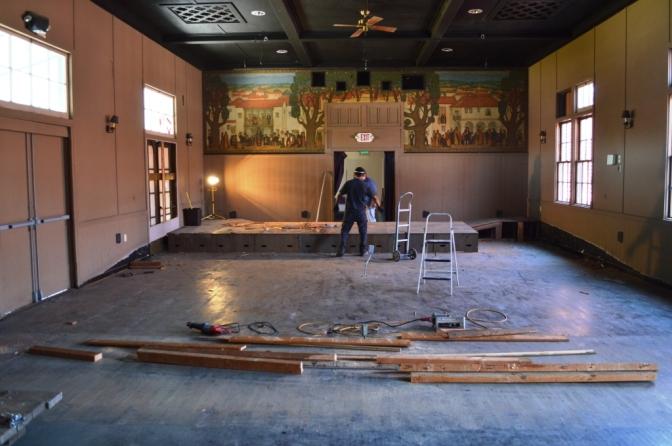 Alhecama Theatre Rehabilitation