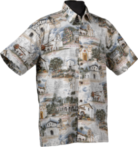 California Missions shirt
