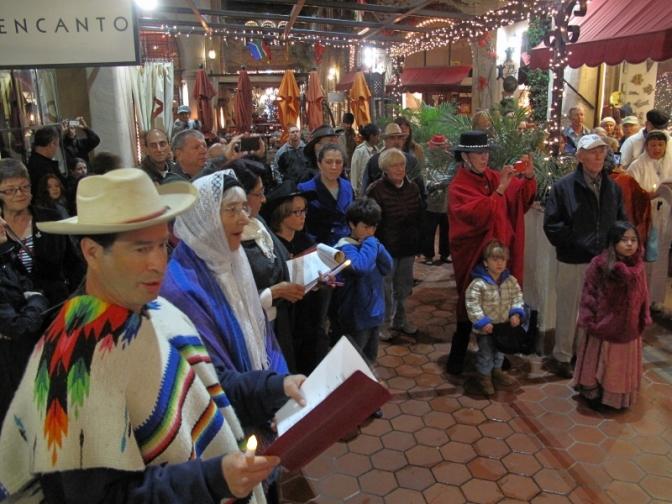 Las Posadas Program Takes an Early California Christmas Tradition to the Streets!