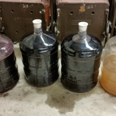 Wine for blending. Photo by Michael H. Imwalle.