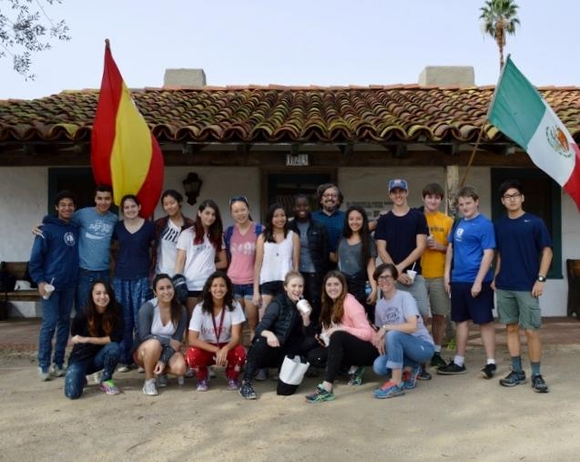 Cate School 2015 volunteer group. Photo by Mike Imwalle.
