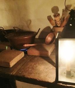 Inside la cocina at El Presidio SHP. Photo by Brittany Avila.