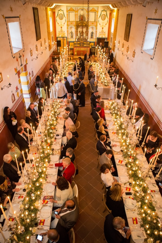 Candlelight Dinner in the Chapel and Rancho Roundup Photos are here!