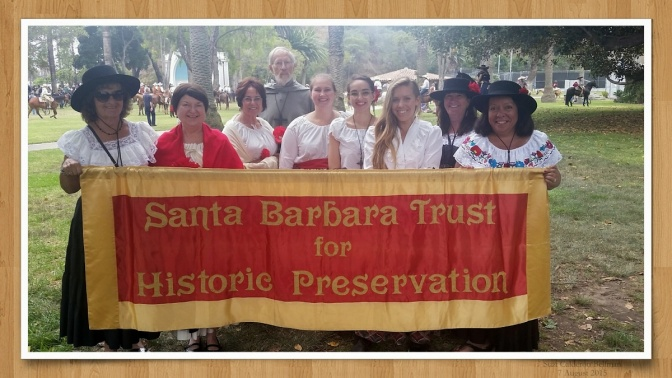 SBTHP Participates in 2015 Old Spanish Days Fiesta Parade!