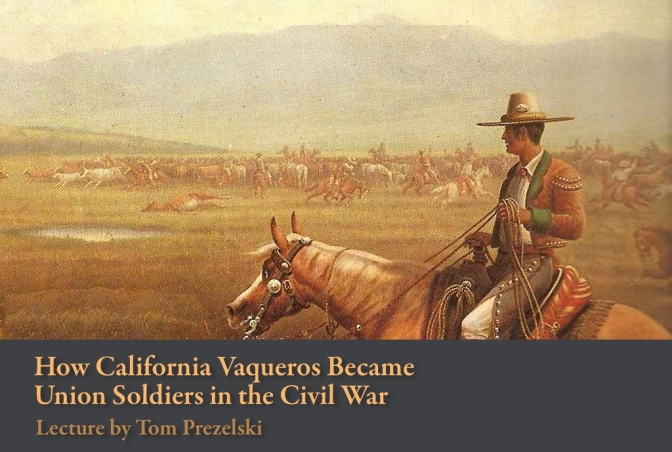 New Book about Californios in the Civil War