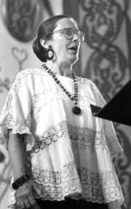 Elizabeth Hvolboll.  Photo courtesy of the Presidio Research Center.