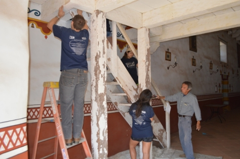 4-prepping-choir-loft-stairs-for-paint