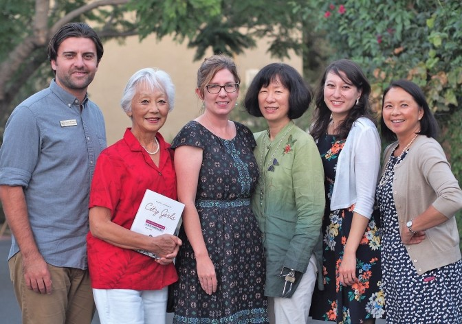 Kevin McGarry, Kay Van Horn, Anne Petersen, Valerie Matsomoto, Mika Thornburg and Terease Chin. Photo by Dr. Paul Mori.