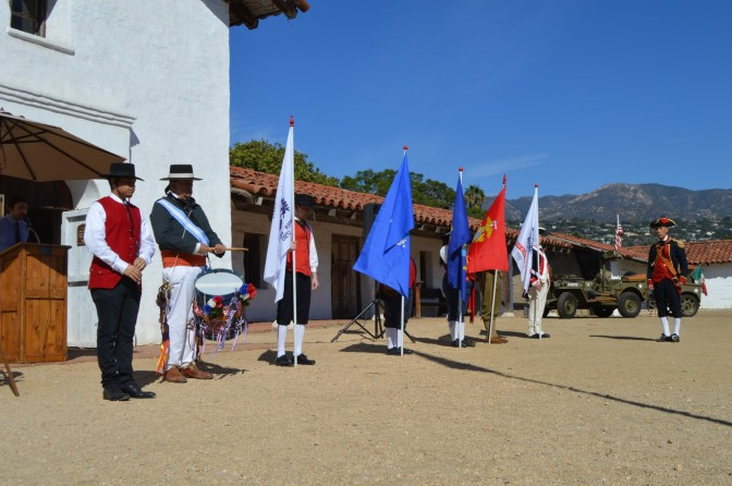 Veterans Day 2016 at El Presidio SHP