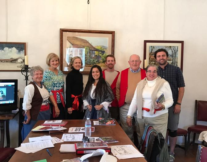Welcome New SBTHP Docents!