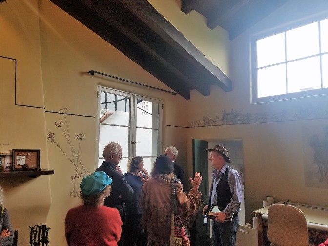 "SBTHP Hosts a Santa Barbara School of the Arts ""Preview"" Tour"