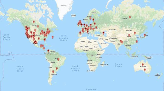 El Presidio de Santa Bárbara SHP's Worldwide Reach!