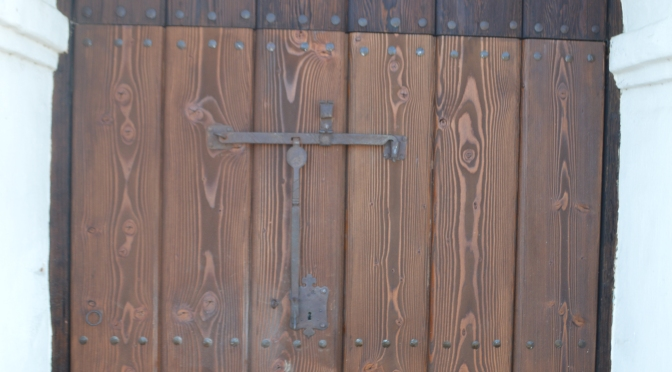 Replacing the Presidio Chapel Doors